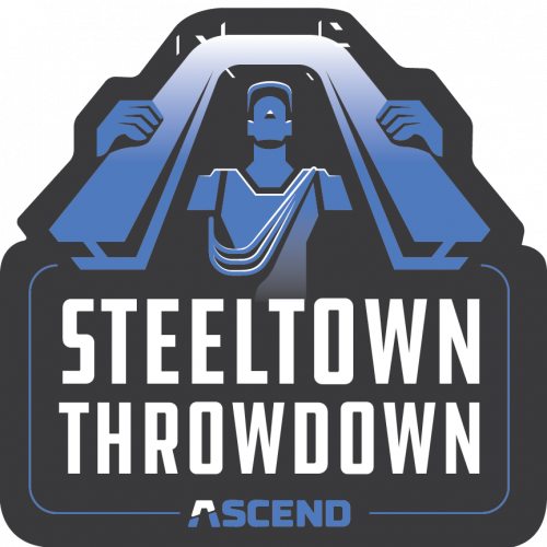 ASCEND Climbing Steel Town Throw Down Patch